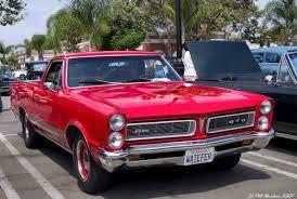 1965 Pontiac GTO Chief Camino pickup - red - fvr - General Motors ...