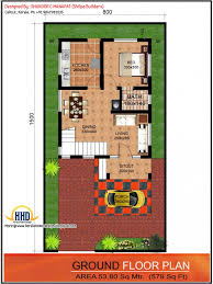 Ground Floor Plan For Two Floor House Design A Modern Architecture    Ground Floor Plan For Two Floor House Design A Modern Architecture Design Of A Small House In Narrow Lot A Small Garage And A Beautiful Interior Of The