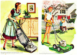 Lawn Mowing Ads Ladies And Lawns Envisioning The American Dream