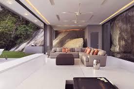 recessed ceiling lighting ideas. modern grey open living room with recessed ceiling light and troffer lamp for lighting ideas t