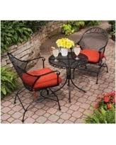 better homes and gardens patio furniture. Clayton Court 3-Piece Motion Outdoor Bistro Set, Red, Seats 2 Better Homes And Gardens Patio Furniture T