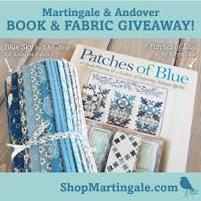 Masterpiece quilts with just 2 colors: Edyta Sitar's latest (+ ... & Edyta sent us a beautiful bundle of her line with Andover Fabrics, called  Blue Sky, so we could give it away to one lucky winner! Adamdwight.com