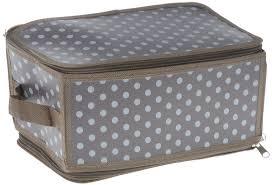 """Коробка для <b>хранения Handy Home</b> """"Полька"""", складная, 30 х 15 х ..."""