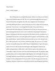 the sixth sense essay dylan brennan period in the movie the  2 pages bell jar essay 1