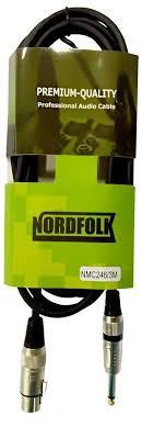 <b>Микрофонный кабель NordFolk</b> NMC246/3M 3м, <b>NordFolk</b> в ...