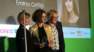 Emma Griffith wins Research Impact Award