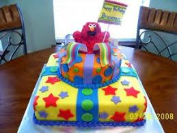 1st Birthday Elmo Cake And Smash Cakebest Birthday Cakesbest