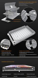 Aluminium Frame Led Light Box Hbmax 65 100 Model Aluminum Profile Frame Led Advertisling