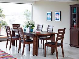 dark dining room furniture. claremount dark extending dining table u0026 4 solid wood chairs room furniture