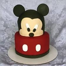Mic010 Playful Mickey Mouse Cake Mickey Mouse Cake Cake