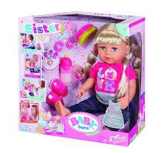 Zapf Creation 820704 Baby Born Interactive Sister Amazonde