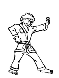 Small Picture Famous Martial Art Karate Coloring Pages Batch Coloring
