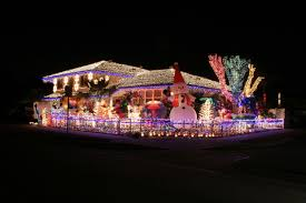 Traditional Decoration Of Christmas House Decorations In Canada