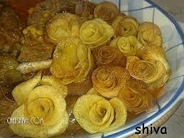 نتیجه تصویری برای خورش سیب