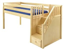 full size loft bed with stairs full size loft bed with stairs and storage full size loft bed
