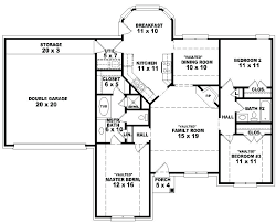 1 story house plans with 4 bedrooms one story house plans free printable images house 4
