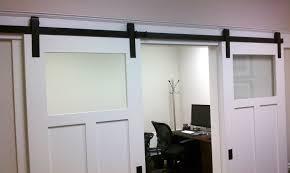 doors for office. Home Design Interior Sliding Glass Barn Doors Front Door Intended For Size 3264 X 1952 Office