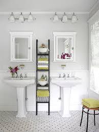 side by side bathroom pedestal sinks