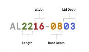 Pelican Case Size Chart Single Lid Case Size Chart Pelican