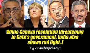 LEN - www.lankaenews.com | While Geneva resolution threatening to Gota's  government, India also shows red light..!