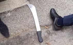 Resultado de imagen para imagenes de dos personas con machetes