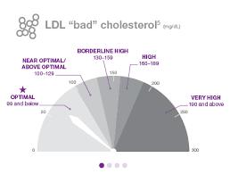 Ldl Cholesterol Levels Chart What Are The Cholesterol Numbers Trilipix Fenofibric Acid