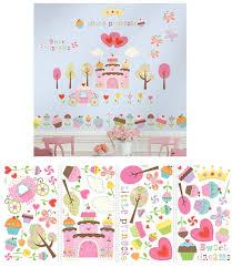 happi cupcake land l and stick wall