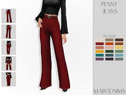 Gosia — Penny Jeans recolor - @clumsyalienn mesh is...
