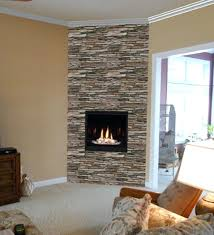 stone corner electric fireplaces interior fireplace stacked