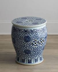 chinese garden stool. Image Is Loading BLUE-AND-WHITE-TWISTED-LOTUS-CHINESE-GARDEN-STOOL- Chinese Garden Stool