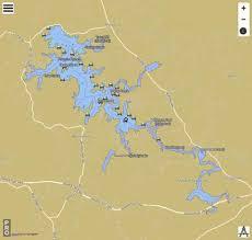 Nottely Lake Fishing Map Us_ub_ga_00329068 Nautical