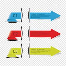 Decorating Arrow Of Light Arrows Blue Red And Yellow Arrows Decorative Pattern Arrow Ppt