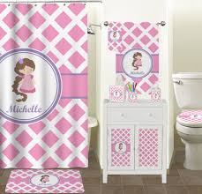 lime green bathroom accessories set. diamond print w/princess bathroom accessories set (personalized) lime green t