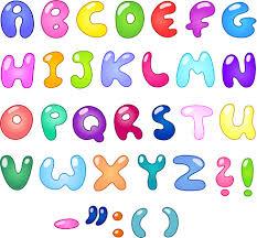 Cute Cartoon Alphabet Letter And Digital Vector Art Free Vector In