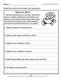 This set of phonics worksheets teaches students about the short o sound. 10 Marvelous 1st Grade Reading Comprehension Worksheets Pdf Picture Inspirations Math Worksheet