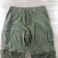 Boy Scout Switchback Pants Size Chart Bsa Boy Scouts Of America Green Nylon Uniform Switchback Pants Relaxed Xlarge Ebay