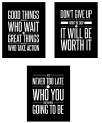 motivational office posters. Get Quotations · Small Posters 3-Set (8 X 10 Inch) Motivational/ Inspirational Quote Wall Motivational Office