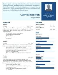 Infographic Resume Template – Stmarysrespite.org
