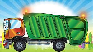 Dessin Anim Voiture Camion Poubelle Camion Voitures Pour