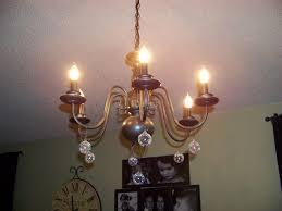 image of chandelier light bulbs design