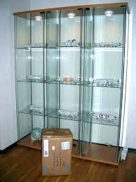ikea glass display cabinet glass display cabinet glass door cabinet glass display cabinet light all lighted