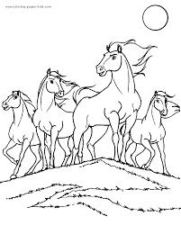 Small Picture Horse Coloring Pages Printables coloring pages color plate