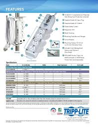 power strip surge protector guide in healthcare facilities tripp protection sps415hgultra 4
