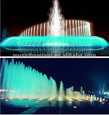 Modern Music Dancing Wall Water Fountain Music Fountain Control System