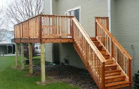 backyard stairs how to build outdoor wood steps tos diy from house back yard pools