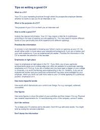 Resume Templates Jane Vader Cv How To Write Fascinating A Great