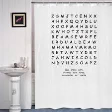 novelty shower curtains. Image Is Loading WORD-SEARCH-Puzzle-Novelty-Shower-Curtain-Great-Gift- Novelty Shower Curtains EBay