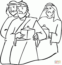 Small Picture Coloring Pages The Journey Of The Three Wise Men Coloring Pages