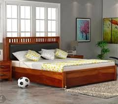 wooden bed furniture design. Bedroom Furniture : Buy Wooden In UK At Best Prices. Enjoy Discounts Upto Off On Good Collection Of Space Bed Design G