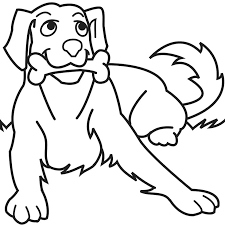 Dog Coloring Page R3861 Dog Bone Coloring Pages Cute Dog Coloring